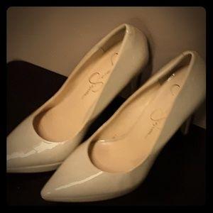 Jessica Simpson Classic Beige Heels